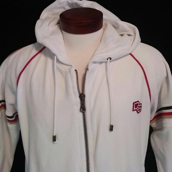 White Velour Sweatshirt Size 16 Hoodies & Sweatshirts